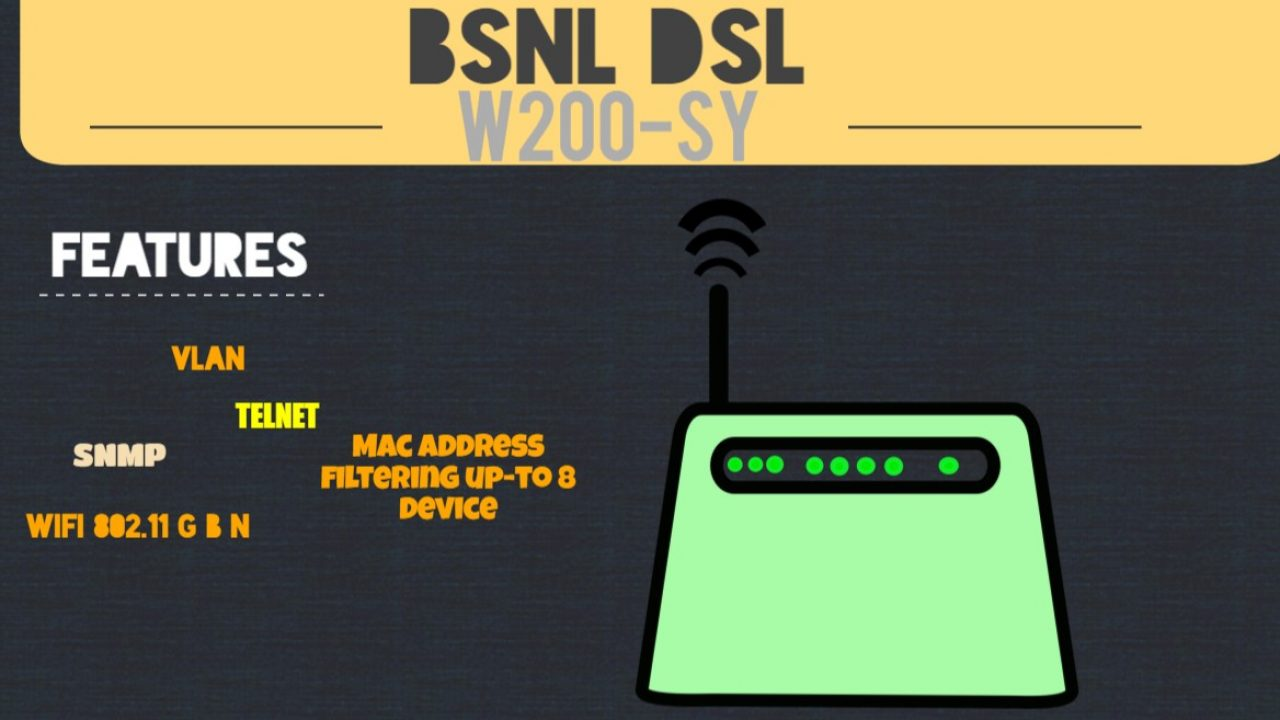bsnl-modem-configuration in 3 easy steps