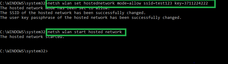 start-hosted-network