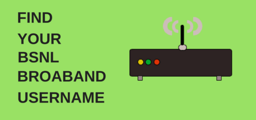 FIND BSNLBROABAND USERNAME BY LOGGING INTO MODEM
