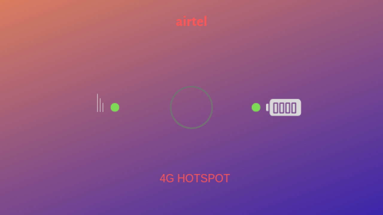 How to Login Airtel 4G Hotspot - The complete Guide